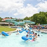 On-Site Lazy River & Waterslides
