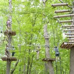 High Ropes Adventure Park at Frontier Town