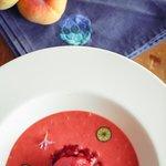 Клубничный суп из детства