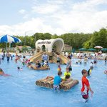 Family Activity Pool in the Water Park at Frontier Town