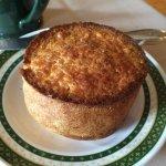 Scrumptious breakfast popover