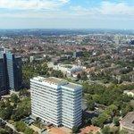 Blick vom Florian auf die Innenstadt