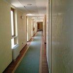 Corridoio centrale accesso alle camere