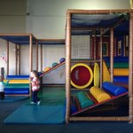 Toddler area, please rope this off!