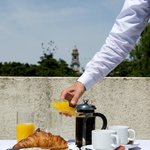 Fancy breakfast on the balcony? Just ask at reception!