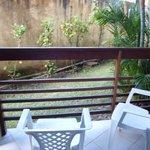 Vista da varanda p/ o muro