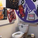 Hallucinating toilet restroom