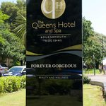 Our new signage at The Queens Hotel in Bournemouth