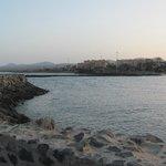 Вид на пляж (на отель Elba Sara)