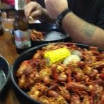 3 pounds of crawfish