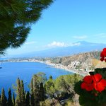 Terrasse avec vue Mer & Etna