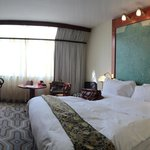 Room is not crazily beautiful, but this is clean and comfortable, value for the money