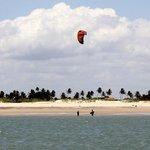 beach, plage, praia, kite surf