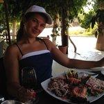 Салат из морепродуктов.Очень большая борция,а сам салат ну ооочень вкусный!!!