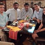 Cena Negocios y Amigos,sept 2014