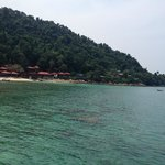 Hotel view from Jetty