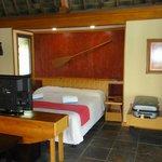 Intérieur d'un bungalow