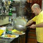cucina a vista con rudy chef