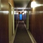 Dark, uninviting hallway