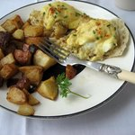 Sweet lump crab eggs Benedict. YUMMY!