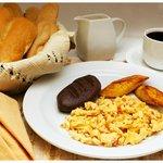 Desayuno típico guatemalteco