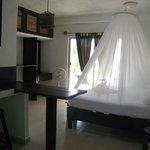 interior suite para dos personas