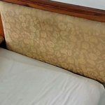 Nice stained headboard