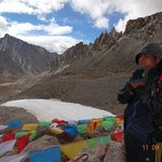 Praying on top of pass , its me !!!