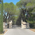 Gate to the property park