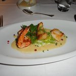 The Vanilla Shrimp was excellent.