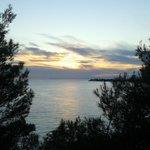 tramonto sul mare!