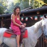 a cavallo :-)
