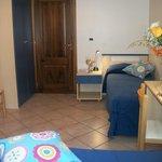 La camera doppia dell'appartamento