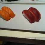 Nigiri tonno e salmone