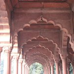 Arches of Diwan-i-aam