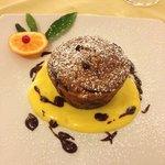 Pear & Chocolate Cake