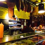 Cheap cava, great meats and cheeses!