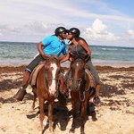 """Horseback riding excursion...stopped for pictures by the """"paparazzi!"""" :)"""
