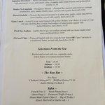 Lunch menu 2014