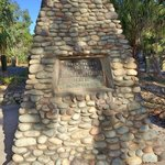 Cook monument at 1770 (1st landing in Queensland)