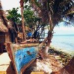 Garifuna's boat