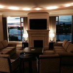 Penthouse Suite at sunset