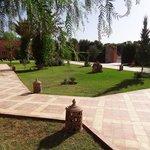 Le jardin - Kasbah Mansour
