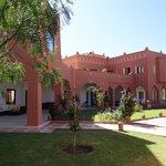 Le patio - Kasbah Mansour