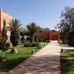 Vue côté jardin - Kasbah Mansour