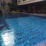 piscine petit matin