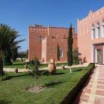 Kasbah Mansour côté jardin