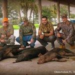 El Salvador, hunting team
