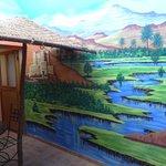 Studio Tichka, la fresque - Kasbah Mansour
