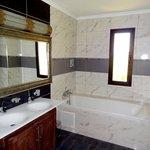 Salle de bain de la Suite Sultan - Kasbah Mansour